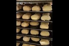 Krokante Hoeksche desem broodje wit