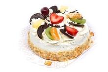 Met foto| Slagroom traktatie taartje