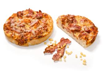 Focaccia bacon - cheese