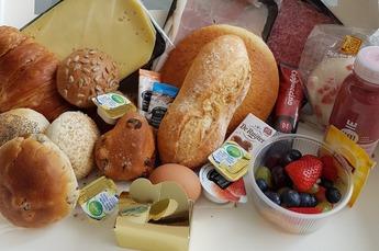 Ontbijt pakket luxe 1 pers.* Gevuld met: