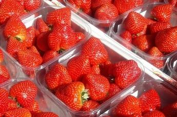 Bak aardbeien voor € 2,95