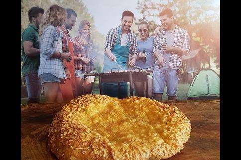 Turks brood met kaas