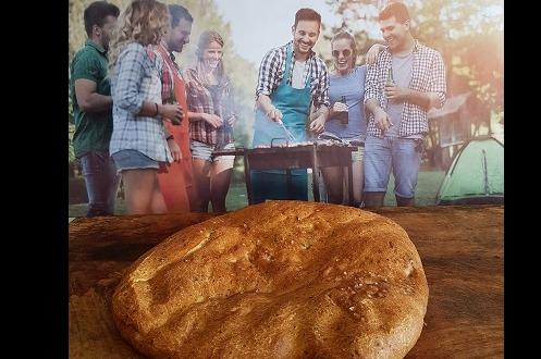 Turks brood met zee zout