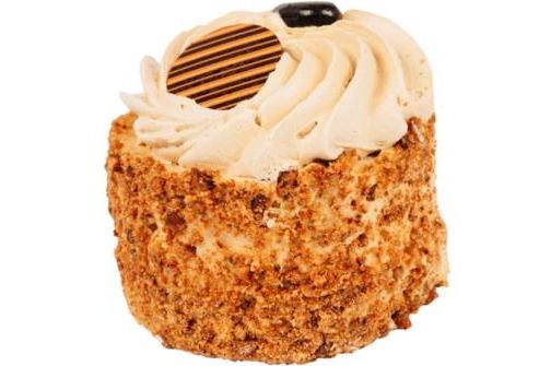 Mokka cremé schuim gebakje