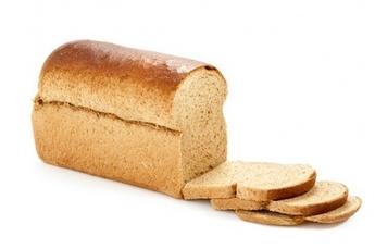 Hoog bruinbrood