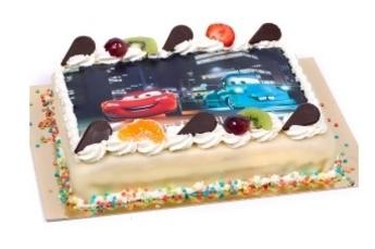 Foto taart! Stel zelf uw fototaart samen!