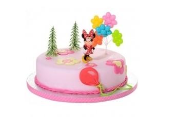 Minnie - Fondant taart