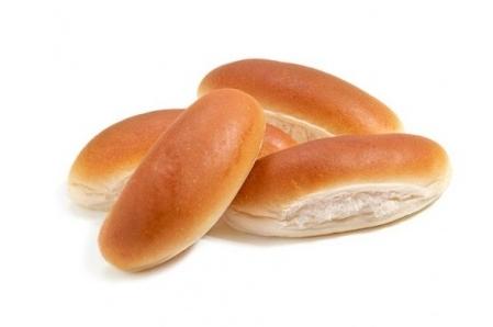 Zachte witte punt broodje